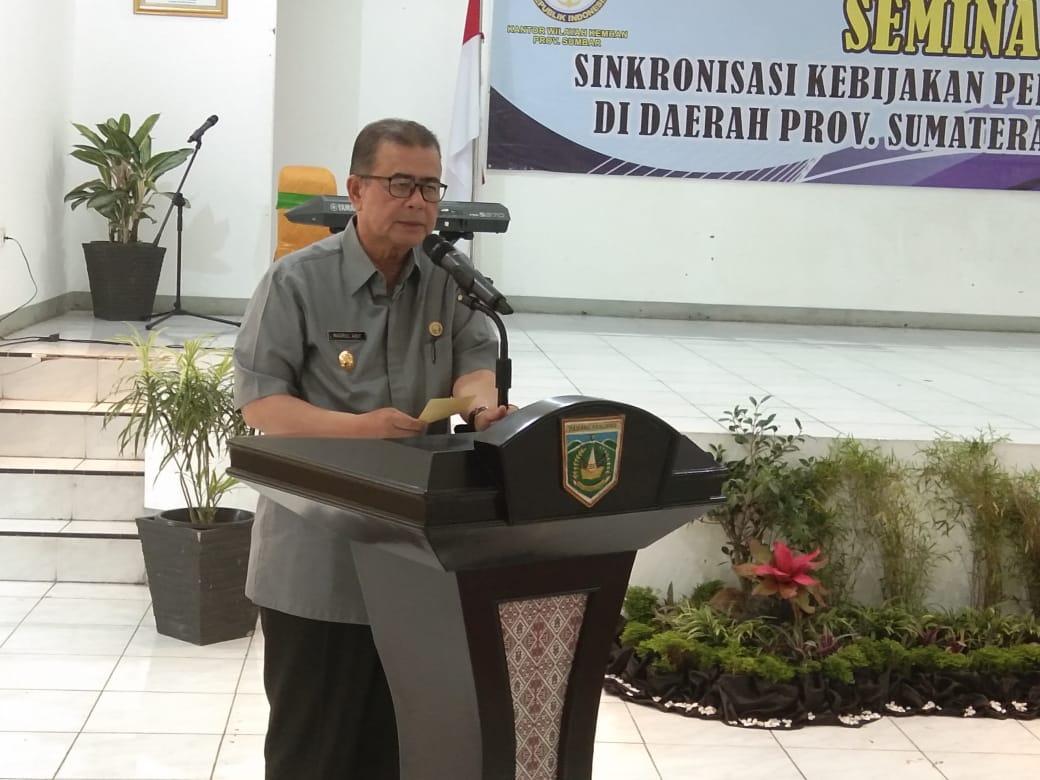 Wagub Sumbar Nasrul Abit Idiologi Pancasila Sebagai Pemersatu Bangsa Yang Harus Dijaga Utusanindo Com